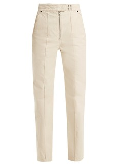 Isabel Marant Nuk high-rise straight-leg trousers