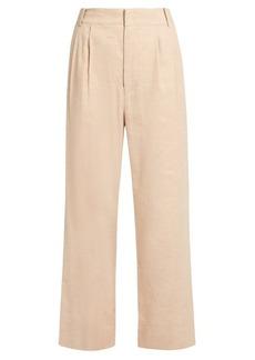 Isabel Marant Nyoka wide-leg linen-blend trousers