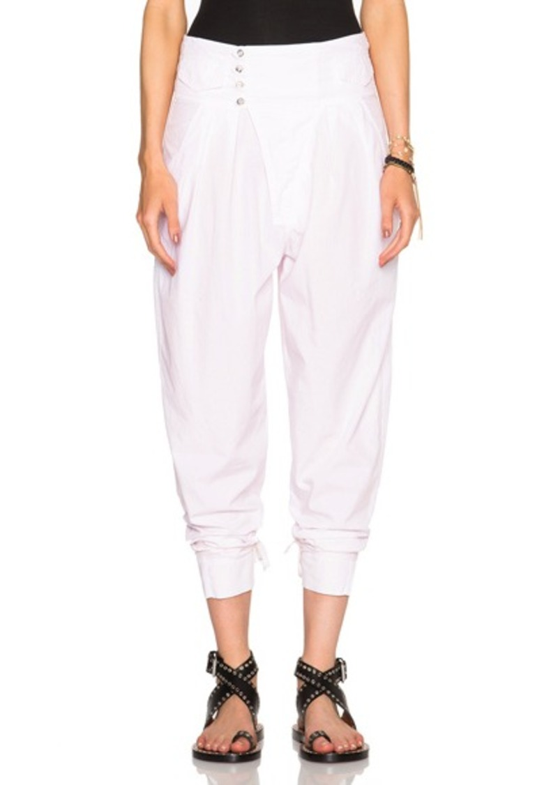 Isabel Marant Odrys Rajasthan Cotton Trousers