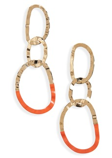 Isabel Marant Oreille Circle Drop Earrings