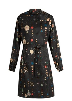 Isabel Marant Ossie shantung-silk dress
