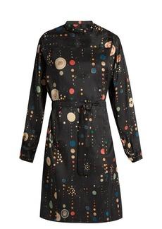 Isabel Marant Ossie shantung-silk dress