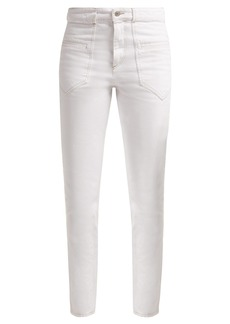 Isabel Marant Overa high-rise slim-fit jeans