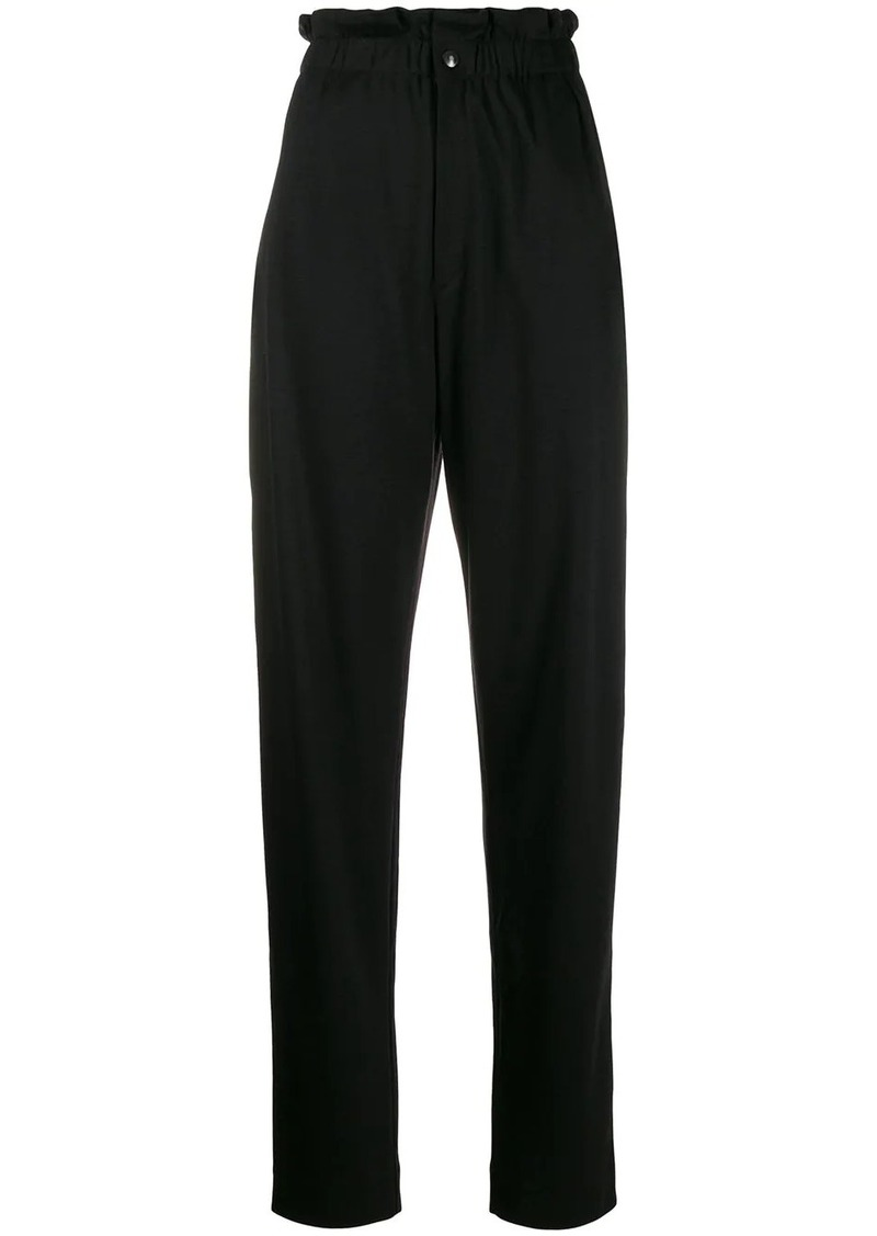 Isabel Marant high-rise frill-waist trousers
