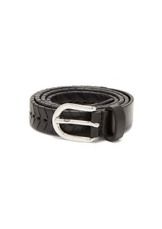 Isabel Marant Pagoo braided leather belt