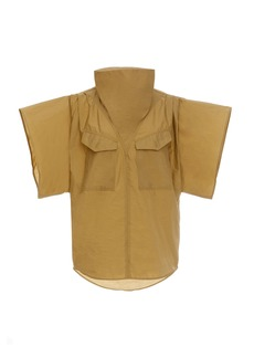 Isabel Marant Parlamili Cotton-Blend Shirt