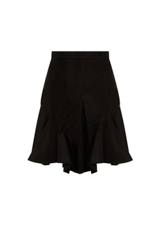 Isabel Marant Parma pleated faux-suede skirt