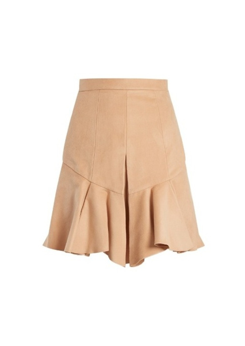 3ae5f9a53f Isabel Marant Isabel Marant Parma pleated faux-suede skirt | Skirts