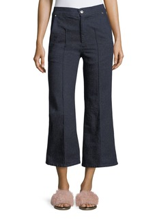 Isabel Marant Parsley Cropped Wide-Leg Jeans