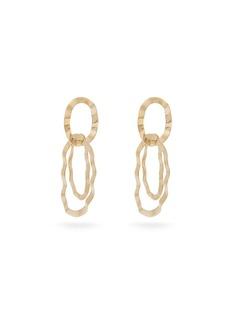 Isabel Marant Pith hammered hoop earrings