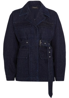 Isabel Marant Pleyel belted denim jacket
