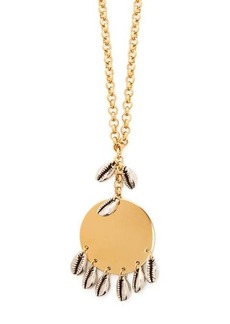 Isabel Marant Puka-shell pendant necklace
