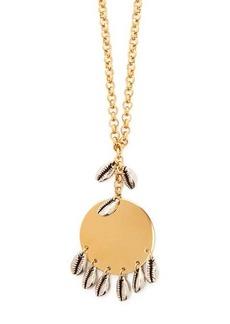 Isabel Marant Puka-shell pendant necklace