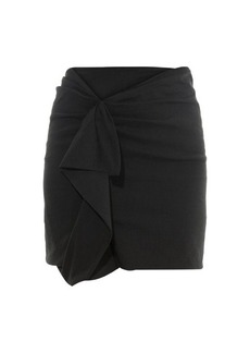 Isabel Marant Quena ruffle-trimmed mini skirt