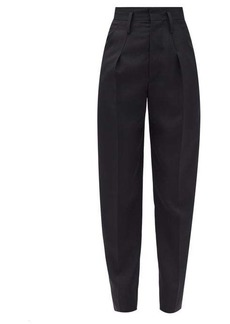 Isabel Marant Racomisl high-rise wool-flannel trousers