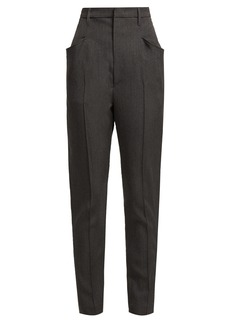 Isabel Marant Raynor high-rise wool trousers