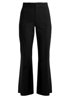Isabel Marant Reeves cropped flared-leg trousers