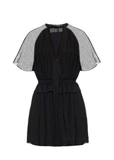 Isabel Marant Retra short-sleeved crepe mini dress