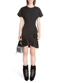 Isabel Marant Rimba Ruffle Hem Dress