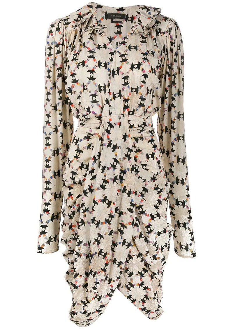 Isabel Marant Blandine draped dress