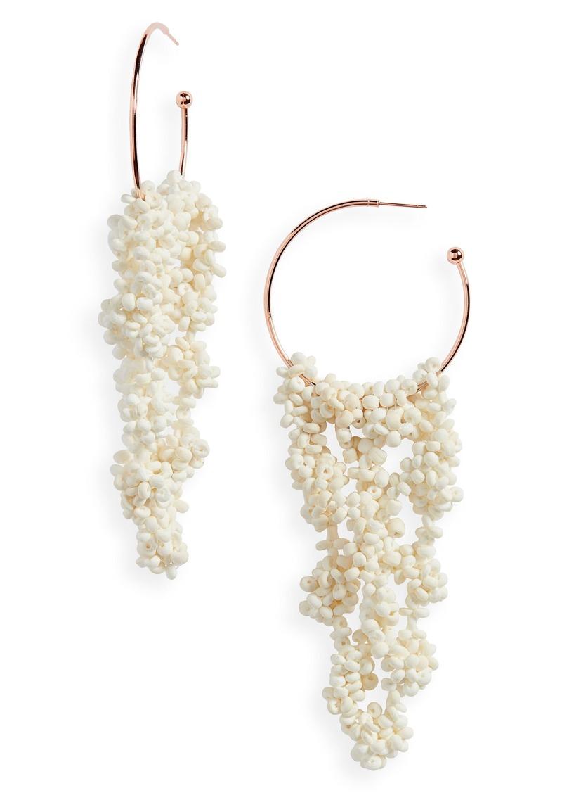 ISABEL MARANT Rubell Hoop Earrings