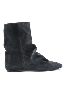 Isabel Marant Rullee slouched suede ankle boots