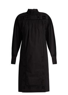 Isabel Marant Samuel high-neck cotton dress