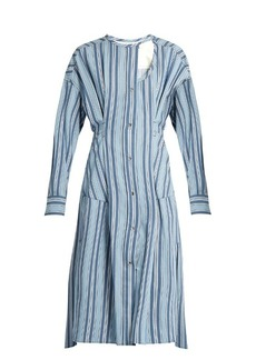 Isabel Marant Selby button-through striped dress