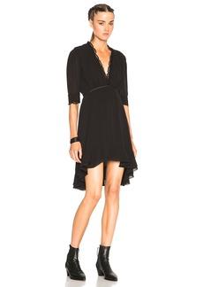 Isabel Marant Silk & Lace Quidor Dress