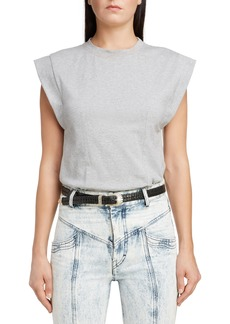 Isabel Marant Slit Back Muscle Tee