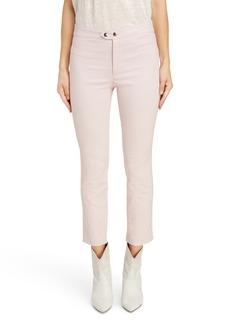 Isabel Marant Snap Detail Cotton Blend Pants