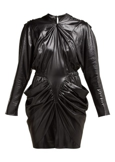 Isabel Marant Soya draped mini dress