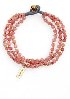Isabel Marant Stone Beaded Toggle Bracelet