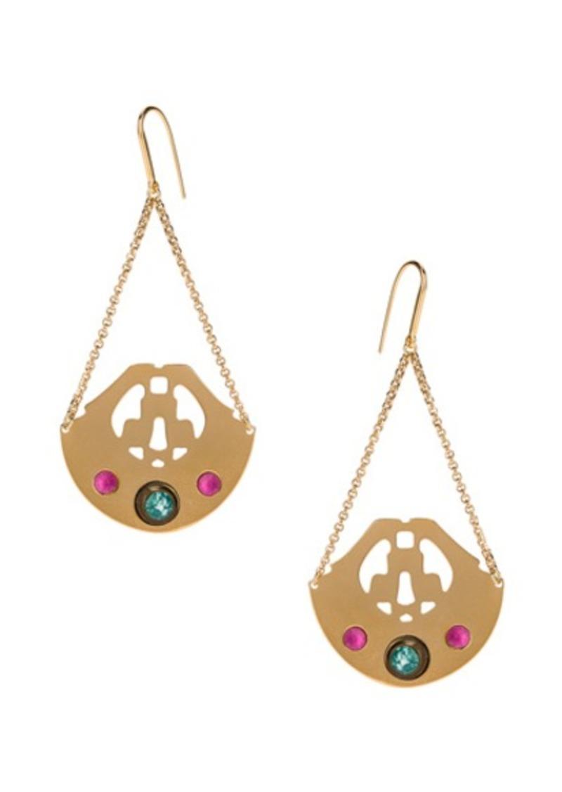 Isabel Marant Stone Chandelier Earrings