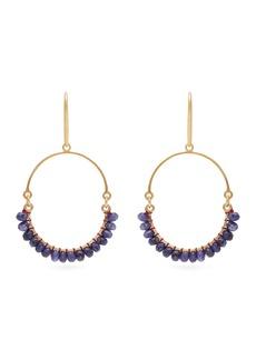 Isabel Marant Stone-embellished hoop earrings