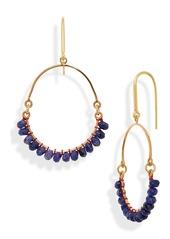 Isabel Marant Stone Hoop Earrings