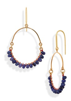 Isabel Marant Stone Hoop Earrings