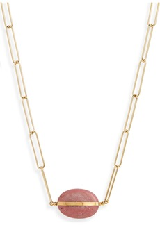 Isabel Marant Stone Pendant Necklace