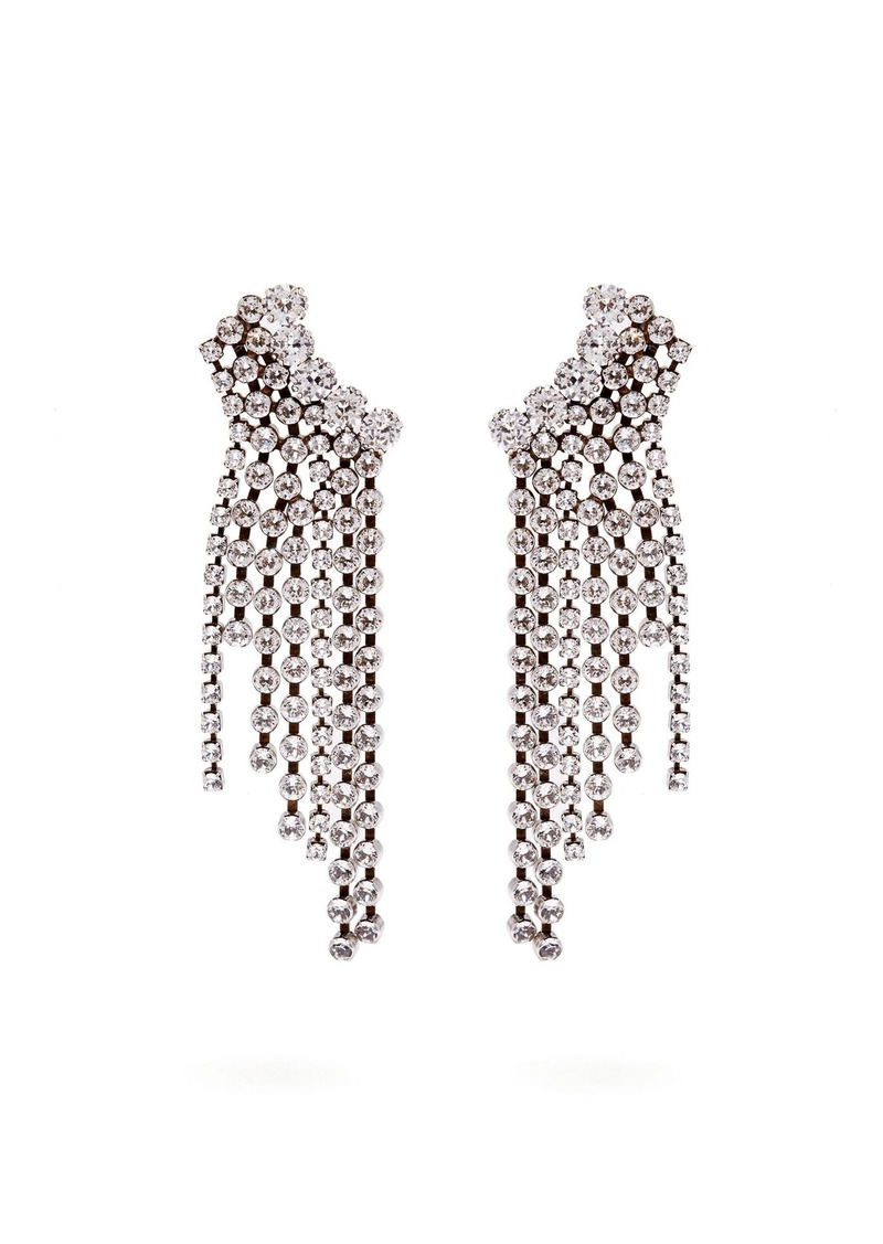 Isabel Marant Strass crystal-embellished cascade earrings