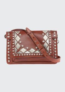 Isabel Marant Studded Maskhia Crossbody Bag