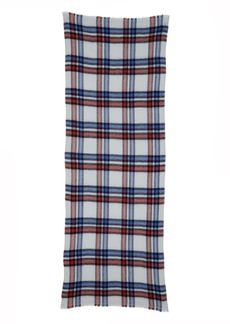 Isabel Marant Suzanne Check Wool & Cashmere Scarf