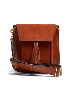 Isabel Marant Sykan leather and suede bag