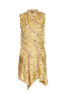 Isabel Marant Tabby printed silk dress