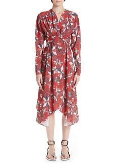 Isabel Marant Tamara Techno Print Dress