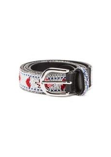 Isabel Marant Tanji beaded leather belt