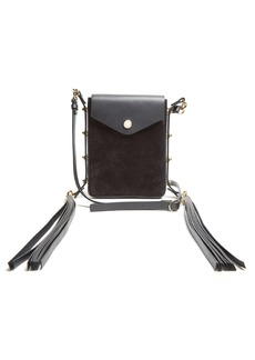 Isabel Marant Teinsy suede and leather cross-body bag