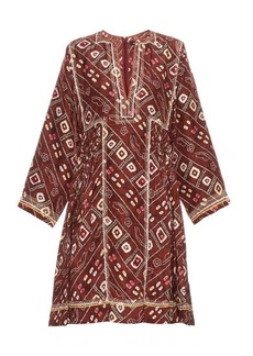 Isabel Marant Thurman printed silk dress