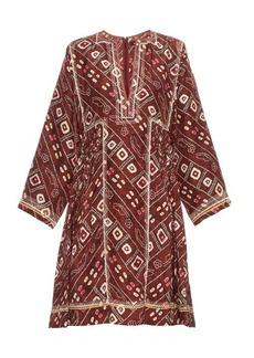 Isabel Marant Thurman printed silk dress
