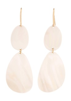 Isabel Marant Tiered Shell Drop Earrings