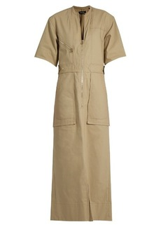 Isabel Marant Toby cotton-twill maxi dress